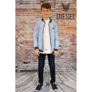 Diesel Kids Bomber Jacket Sky Blue