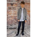 Diesel Kids Bomber Jacket Dark Blue