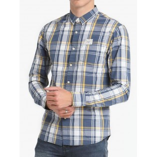 Diesel Ola Check Shirt-Blue