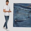 EJ Denim Super Stretch Reflex Jeans-Light Blue Jeans
