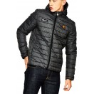 Ellesse Lombardy Padded Jacket-Grey Griddle