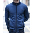 Outrage Ross Zip Top-Navy