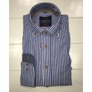 Casa Moda Blue/White stripe Shirt